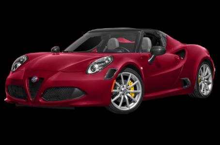New 2018 Alfa Romeo 4C Spider Exterior