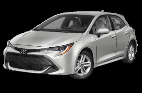 New 2021 Toyota Corolla Hatchback Exterior
