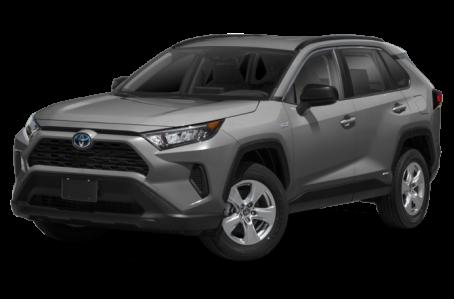 New 2021 Toyota RAV4 Exterior