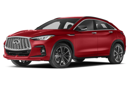 Picture of the 2022 INFINITI QX55