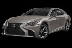 Picture of the 2020 Lexus LS 500