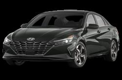 Picture of the 2021 Hyundai Elantra