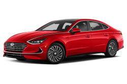 Picture of the 2021 Hyundai Sonata Hybrid