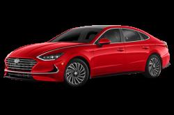 Picture of the 2021 Hyundai Sonata Hybrid