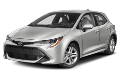 Picture of the 2021 Toyota Corolla Hatchback