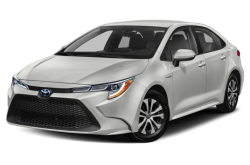 Picture of the 2021 Toyota Corolla Hybrid