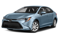 Picture of the 2021 Toyota Corolla