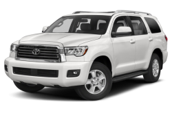 Picture of the 2021 Toyota Sequoia