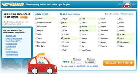 Car Chooser